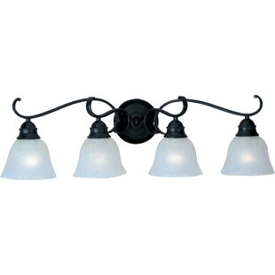 Alcott Hill Streator 4-Light Vanity Light