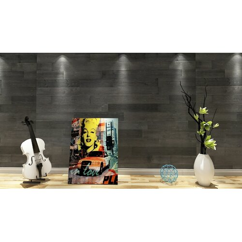 ft. 3.2 ft x 1.6 ft Flowers Interior Design Wall Paneling Decor Dundee Deco P459694 Off-White 96cm x 48cm PVC 3D Wall Panel 0.46 sq. m 5.12 sq Silver Faux Waves