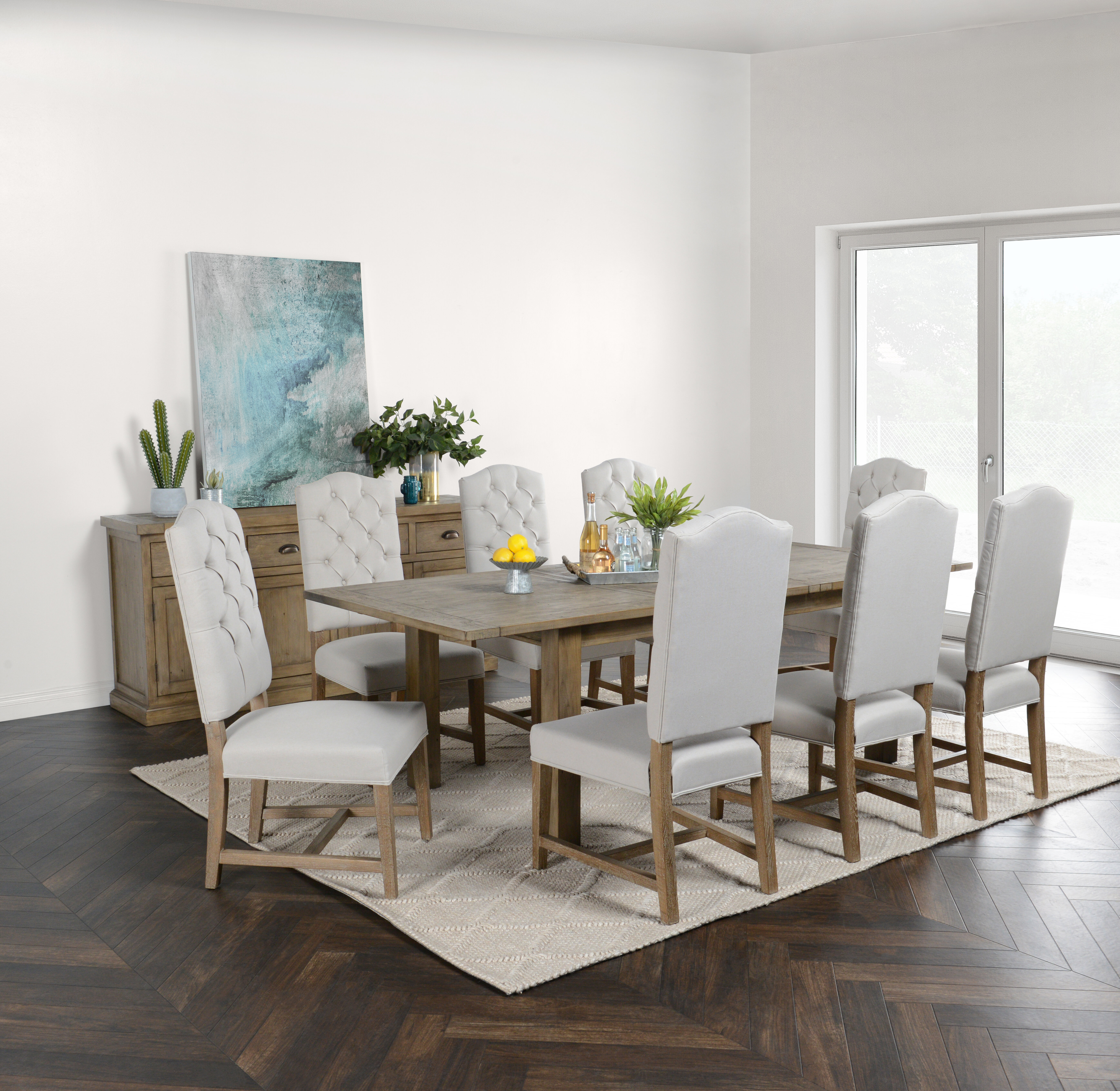 View Long Dining Room Table Pics