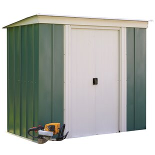 8 Ft. W X 4 Ft. D Pent Metal Shed By WFX Utility