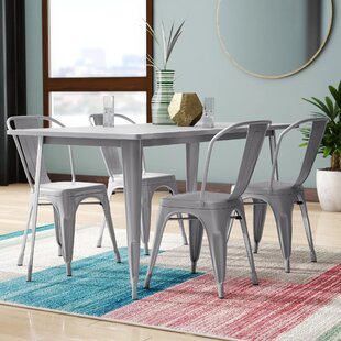 Corrado 5 Piece Dining Set Mercury Row