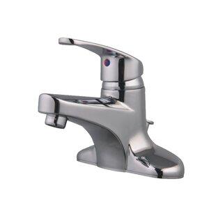Cadell Three Hole Centerset Bathroom Faucet