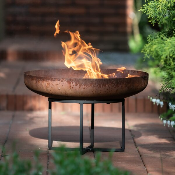 No Rust Fire Pit Wayfair Co Uk