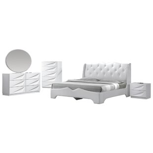 Madrid Platform 5 Piece Bedroom Set by BestMasterFurniture Best Choices