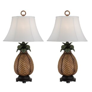 Rich Pineapple 29 Table Lamp (Set of 2)