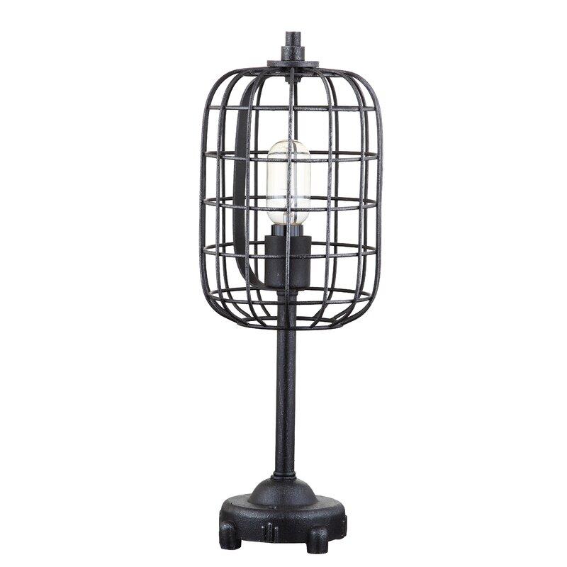 """17 Stories Digregorio Metal 20"""" Table Lamp"""