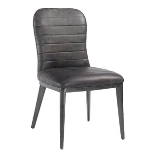 Jaclyn Genuine Leather Upholstered Dining..