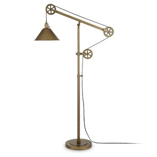 Antique brass floor lamps youll love wayfair antique brass floor lamps aloadofball