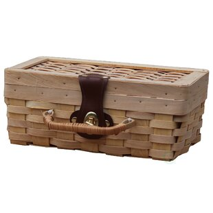 Small Woodchip Child's Private Picnic Basket