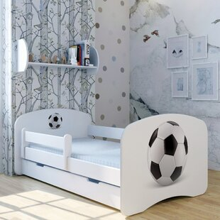 Football Bed With Mattress And Drawer By Zoomie Kids