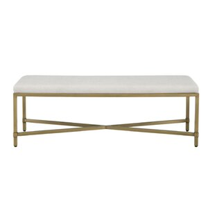 Dermott Upholstered Bench by Everly Quinn