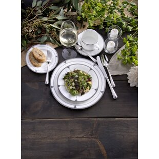 Deauville Bone China 5 Piece Place Setting Set, Service for 1