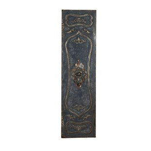 Metal Regal Door Graphic Art Plaque by Astoria Grand