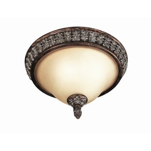 Woodbridge Lighting Worthington 2-Light Flush Mount