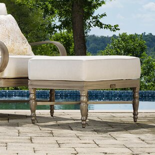 Alarcon Ottoman with Cushion by Canora Grey