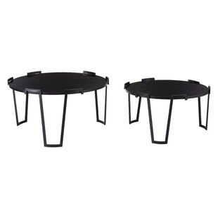 Bloomsbury Market Smithtown 2 Piece Coffee Table Set