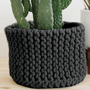 Shopping for Woven Fabric Basket By Elizabeth Hales Design