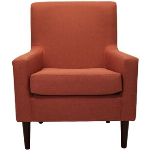 Classic Orange Accent Chairs Painting