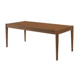 Acheritou Solid Wood Coffee Table by Latitude Run®