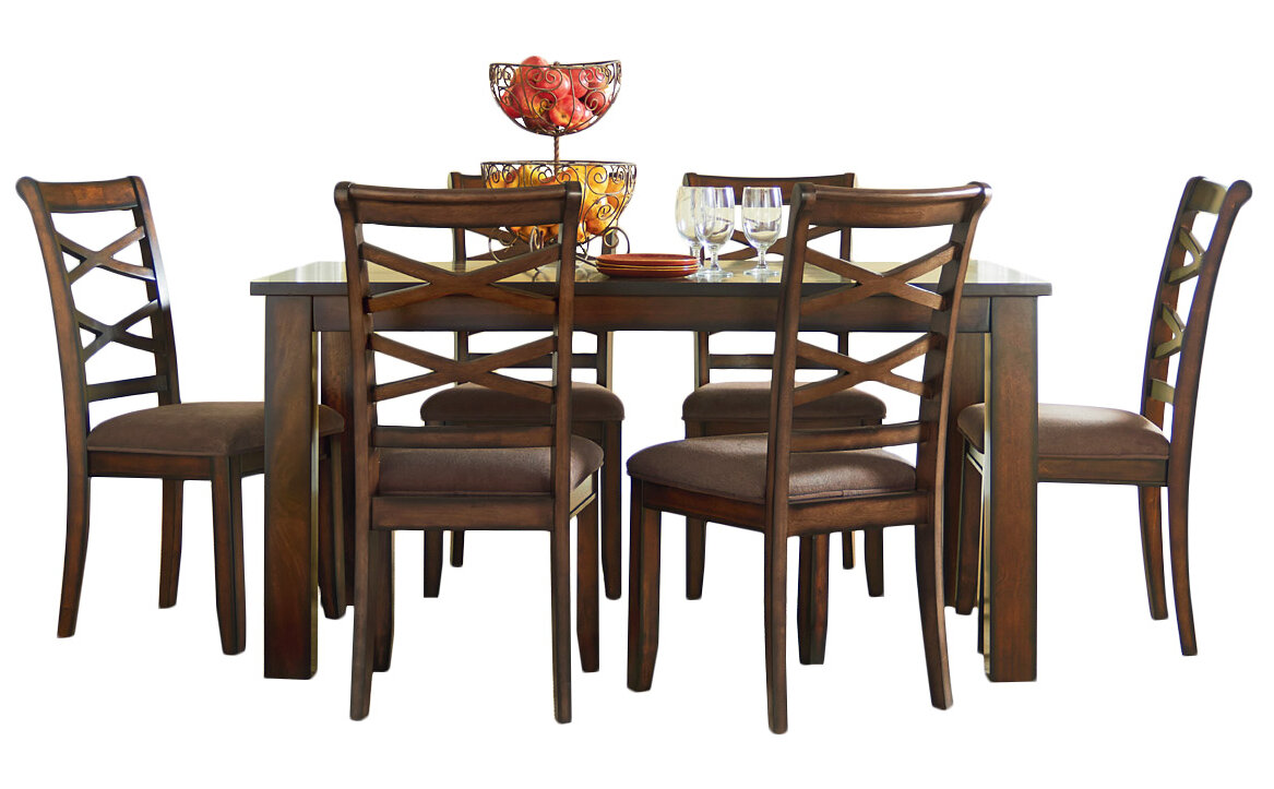 Three Posts Crossback 7 Piece Dining