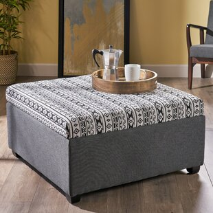 Crosby Storage Ottoman by World Menagerie