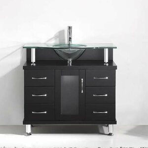 Runge 36″ Single Bathroom Vanity Set