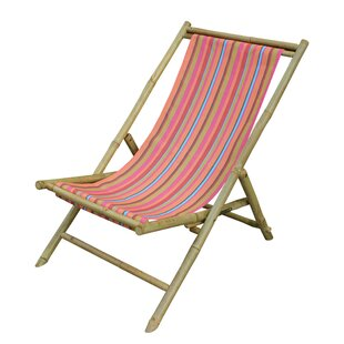 ZEW Inc Sling Folding Beach Chair
