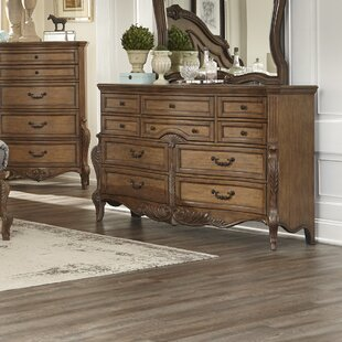 Petti 10 Drawer Double Dresser