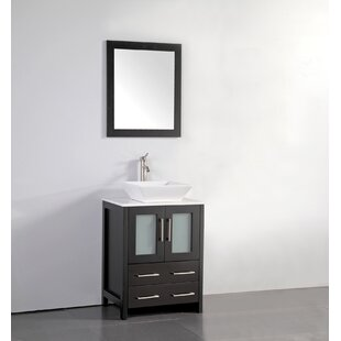 24 Inch Vessel Sink Bathroom Vanities You'll | Wayfair  Bathroom Vanity And Sink on euro vanity and sink, laundry vanity and sink, vanity top and sink, bathroom cabinet and sink, medicine cabinet and sink,