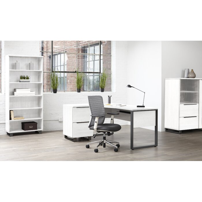 Upper Square Ose Configurable Office Set With Hutch Reviews Wayfair