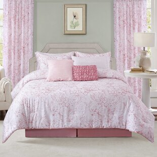 Bridwell Rose Reversible Comforter Set