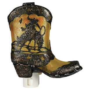 River's Edge Products Cowboy Boot Night Light
