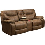 Grizzly Hill Double Motion Console Loveseat by Loon Peak®