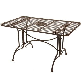 Campa Metal Dining Table by Oriental Furniture