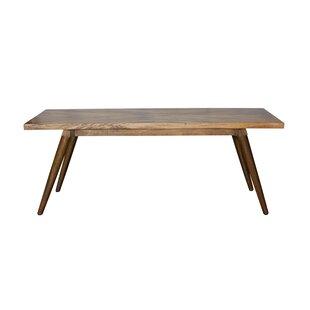 Union Rustic Glaucia Solid Wood Dining Ta..