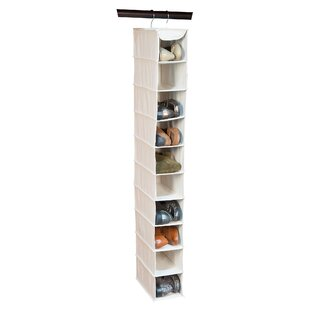 Affordable Nature of Storage 10-Compartment Hanging Shoe Organizer By Richards Homewares