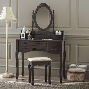 Valdes Vanity Set by Astoria Grand