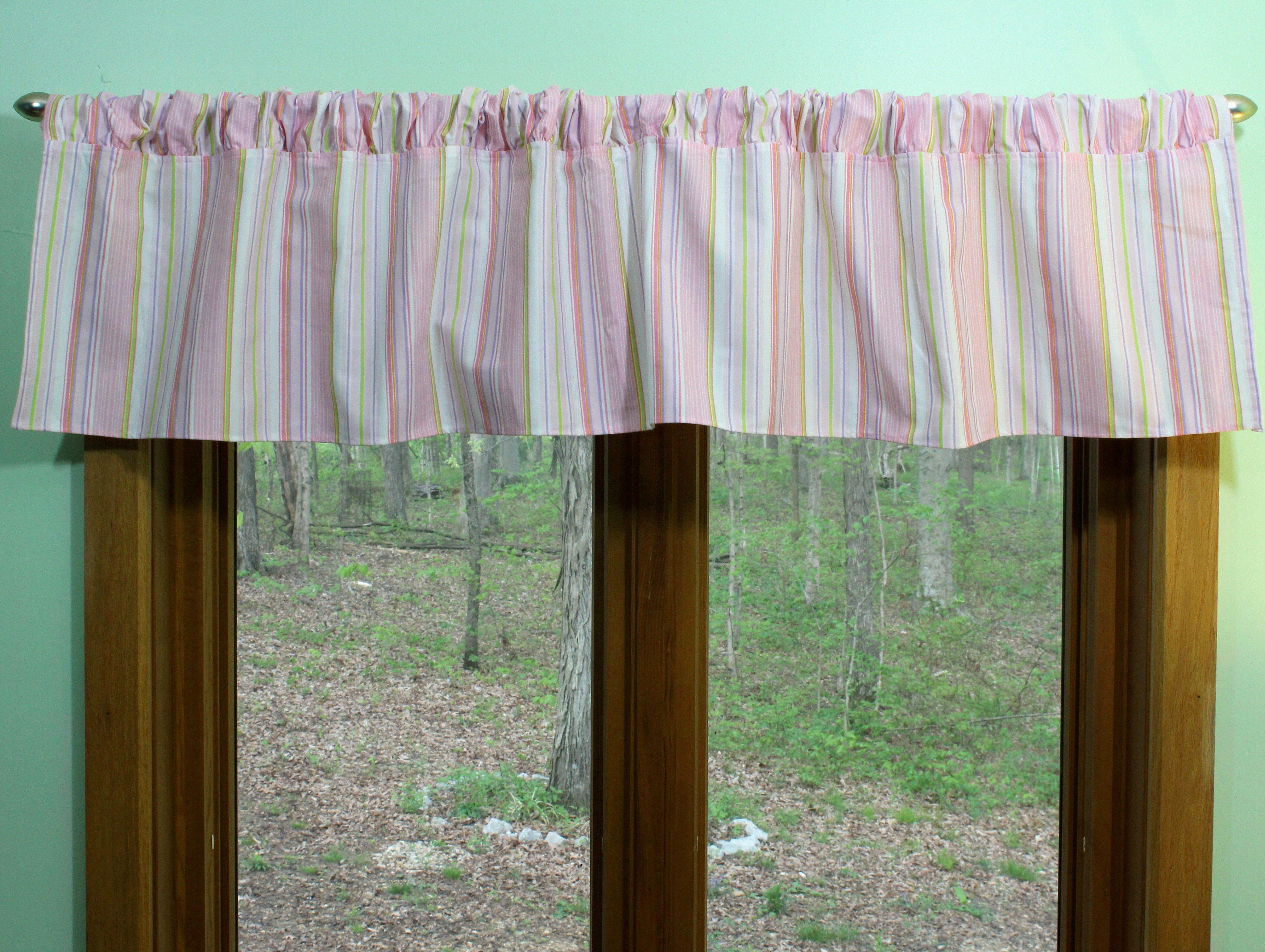 Tutti Frutti Window Valance by Belle
