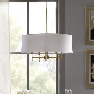 Presidio 5-Light Chandelier by Madison Park Signature