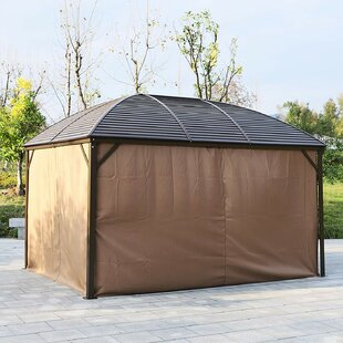 Backyard 13 Ft. W x 9.5 Ft. D Aluminum Patio Gazebo by Outsunny