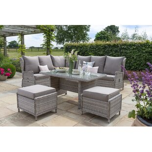 Gowanus Garden Corner Sofa With Cushions By Sol 72 Outdoor