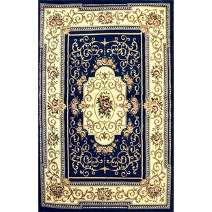 Alfredson Dark Blue Area Rug by Astoria Grand
