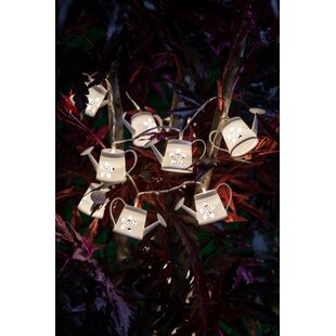 Riley Watering Cans Novelty String Lights By August Grove