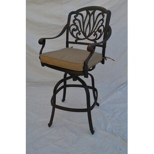 Kristy 30 Patio Bar Stool by Darby Home Co