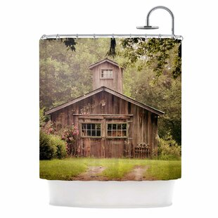 Look for Angie Turner Shabby Elegance Barn Nature Photography Shower Curtain ByEast Urban Home