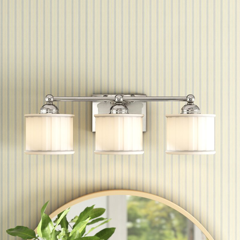 Andover Mills Nashville 3 Light Dimmable Bath Bar Reviews Wayfair