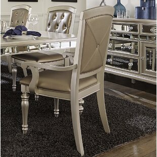 Lusher Upholstered Dining Chair with Arms..