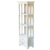 Montevideo 70.9 H x 24.4 W Solid Wood Standard Bookcase by Rosalind Wheeler
