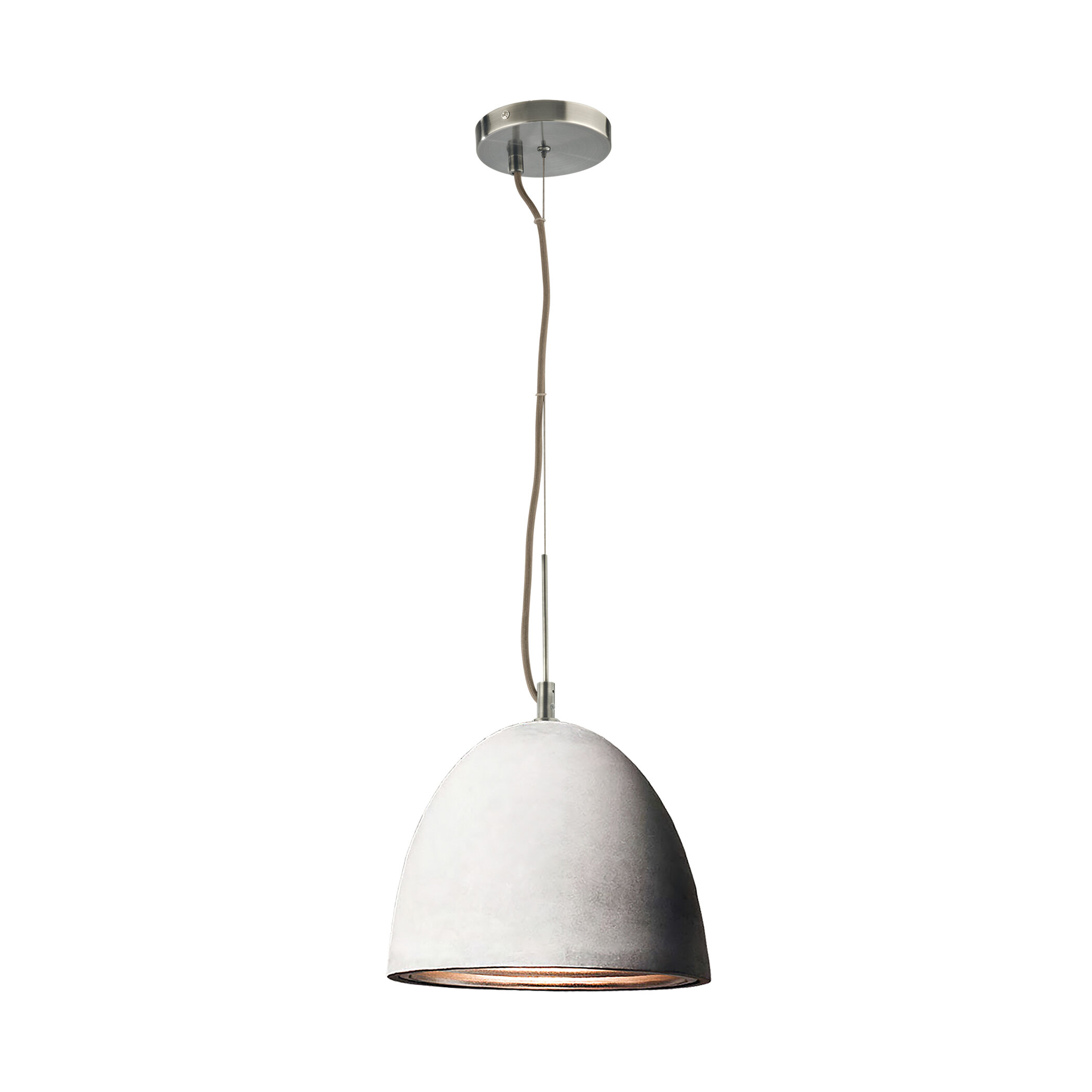 Brayden Studio Ruggles 1 Light Single Bell Pendant Wayfair