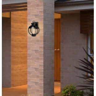 Inexpensive Aldham Outdoor Wall Lantern By Breakwater Bay
